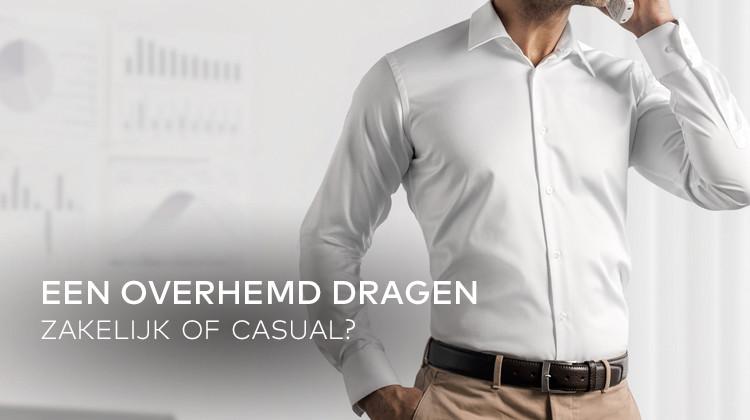 Casual Wit Overhemd.Wat Zijn De Belangrijkste Verschillen Tussen Casual En Zakelijke