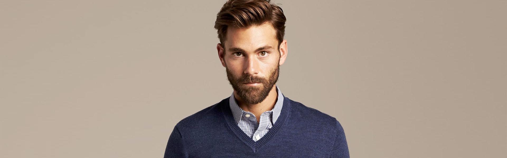 Trui Met Overhemd Heren.Heren Draag Een Pullover Met Overhemd Girav Long Fit Blog