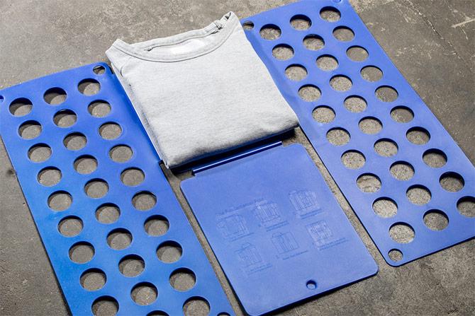 Hoe een Girav T-shirt op te vouwen