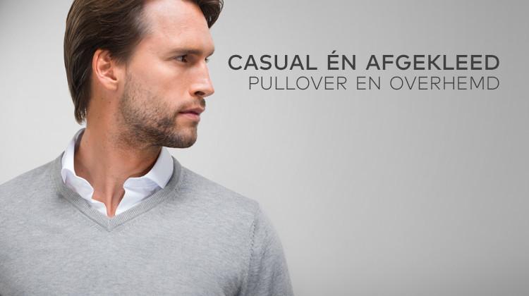 Pullover overhemd