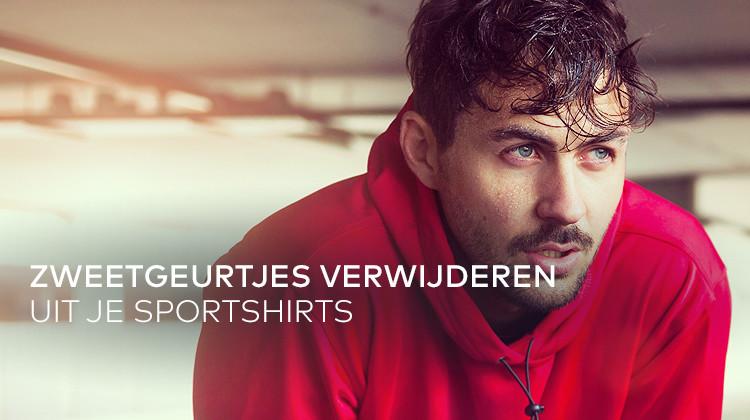 Tip: zo verwijder je zweetlucht uit sportshirts