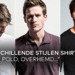 Verschillende stijlen van een shirt