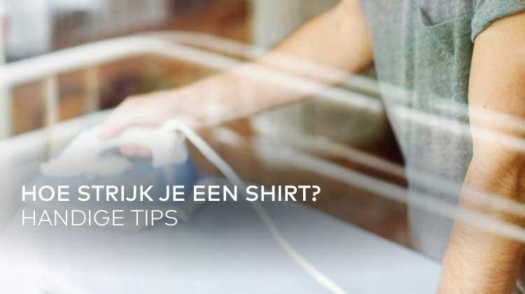 Stap voor stap: een T-shirt strijken