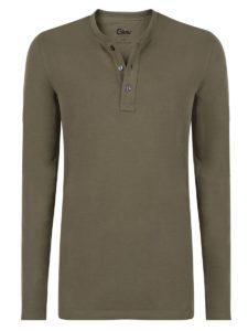 1bf268404a2 Hoe draag je een henley shirt? - Girav Long Fit - Blog