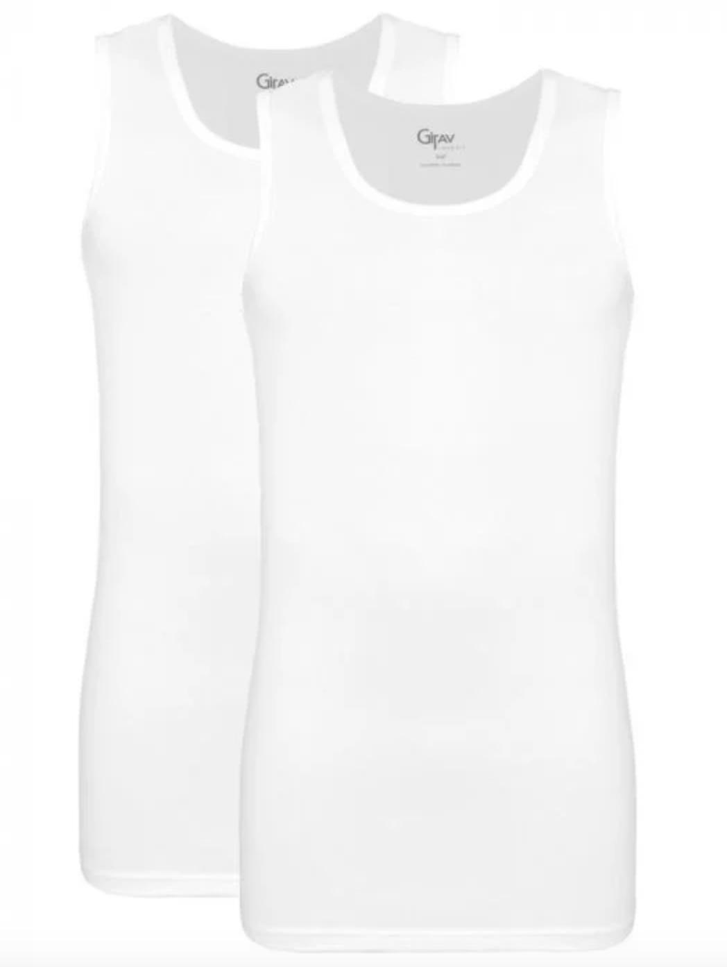 Zonder mouwen v-hals t-shirts