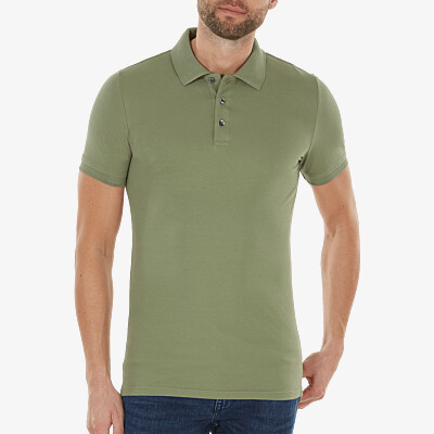 Marbella Slim Fit Poloshirt, Sea green