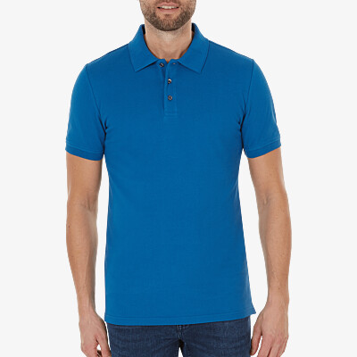 Marbella Slim Fit Poloshirt, Royal blue