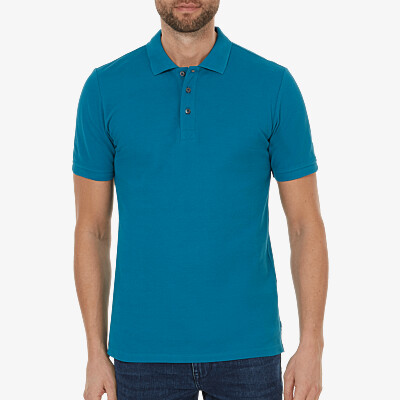 Madrid Poloshirt, Ocean blue
