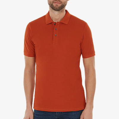 Madrid Poloshirt, Copper