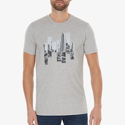 the City - Los Angeles, grey melange