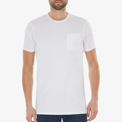 Largo t-shirt, White