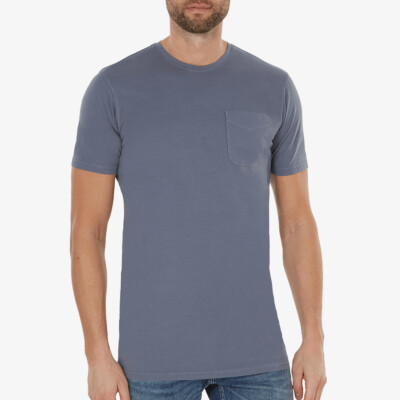 Largo t-shirt, Stone blue