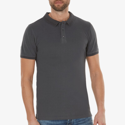 Mallorca polo, Dark grey