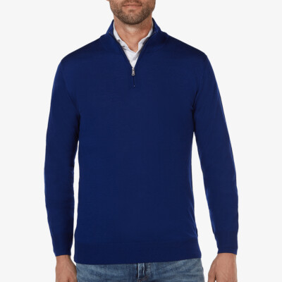 Aspen Half Zip, Dark Royal