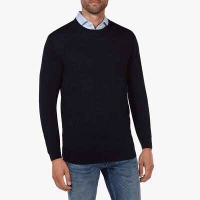 Ontario Crewneck pullover, Navy