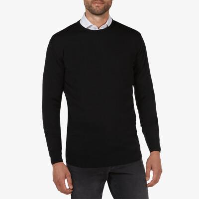 Ontario Crewneck pullover, Zwart
