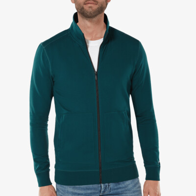 Aberdeen Light Sweatvest, Deep Green