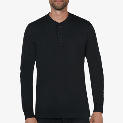 Blackpool Henley Sweater, Zwart