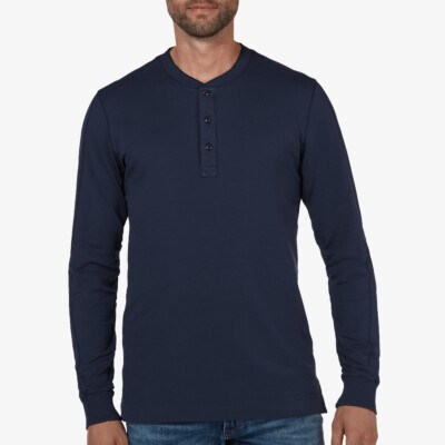 Blackpool Henley Sweater, Donkerblauw