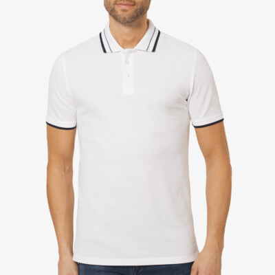 Granada Poloshirt, Wit