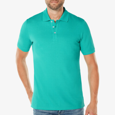 LongFit Poloshirt Madrid, Bright Green