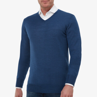 Montreal Pullover, Royal blue