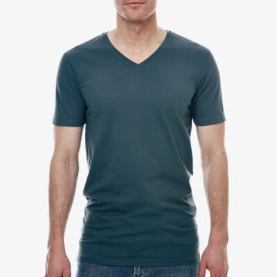 New York Lang Heren T-shirt, 1-pack Dark Slate Grey