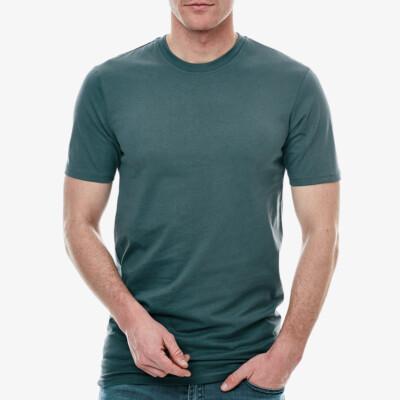 Sydney Lang Heren T-shirt, 1-pack Dark Slate Grey