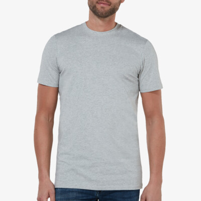 Sydney T-shirt, 2-pack Grey Mêlee