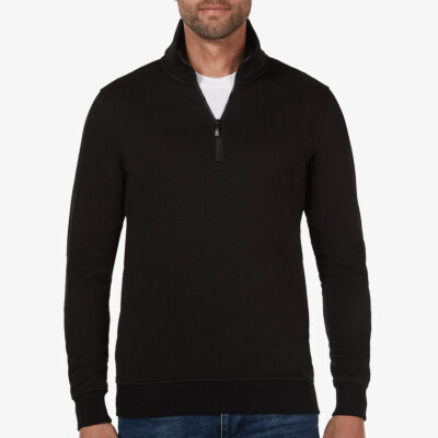Yale, Sweater met rits, Black