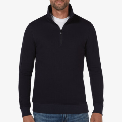 Yale, Sweater met rits, Navy