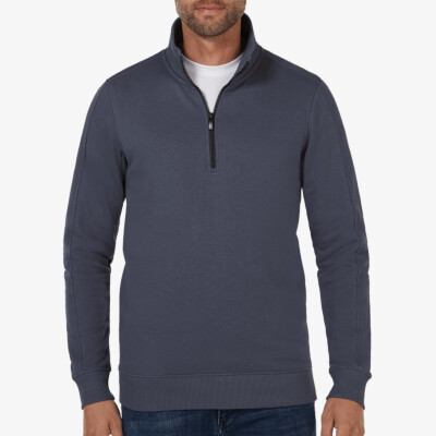 Yale, Sweater met rits, Stone Blue