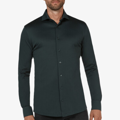 Bergamo jersey shirt, Donkergroen