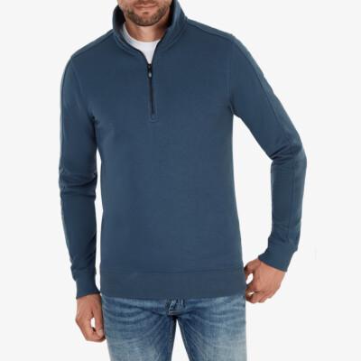 Yale Half Zip, Dark jeans